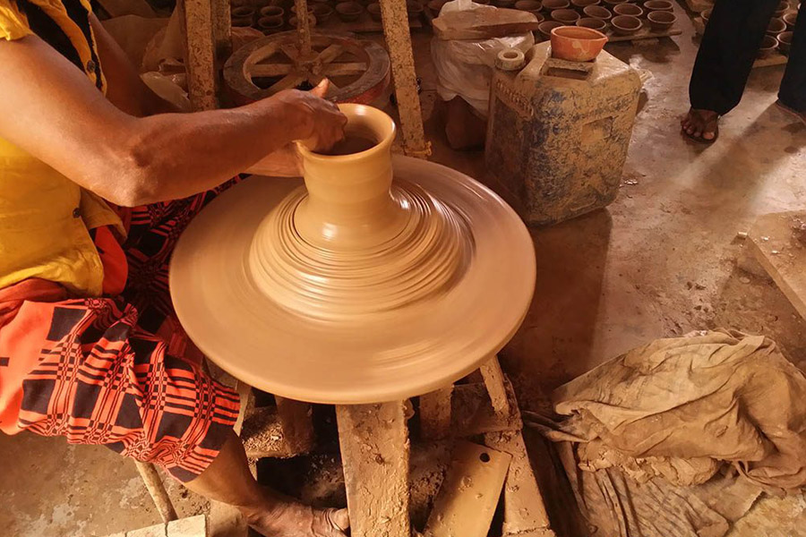 pottery experience Image