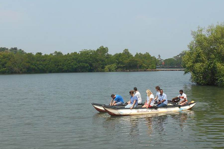 koggala lake tour Image